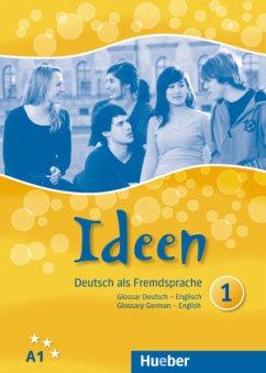 Ideen 1. Glossar Deutsch-Englisch - Glossary German-English - Krenn, Wilfried; Puchta, Herbert