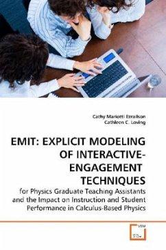 EMIT: EXPLICIT MODELING OF INTERACTIVE-ENGAGEMENT TECHNIQUES