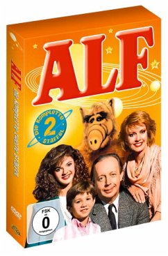 ALF - Die komplette zweite Staffel (4 DVDs) - Keine Informationen
