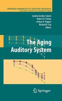 The Aging Auditory System - Gordon-Salant, Sandra / Frisina, Robert D. / Popper, Arthur N. et al. (Hrsg.)