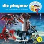Das Licht vom Drachenland / Die Playmos Bd.13 (1 Audio-CD)