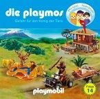 Jagd auf den König der Tiere / Die Playmos Bd.14 (1 Audio-CD)