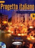 Lehr- und Arbeitsbuch, m. CD-ROM / Nuovo Progetto Italiano (für deutschsprachige Lerner) Bd.1A