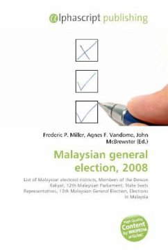 Malaysian general election, 2008
