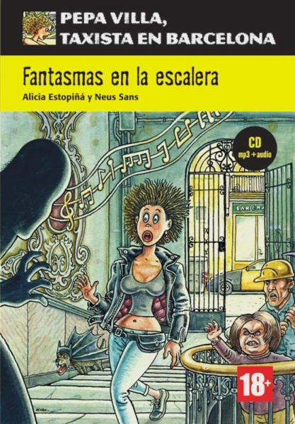 Fantasmas en la escalera. Buch + CD + mp3 - Estopiná, Alicia; Sans, Neus