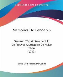 Memoires De Conde V5