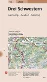 Landeskarte der Schweiz Drei Schwestern