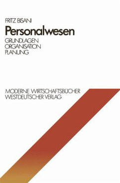 Personalwesen : Grundlagen, Organisation, Planung. Moderne Wirtschaftsbücher ; 06