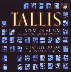 Spem In Alium-Music For Queen Elizabeth - Chapelle du Roi/Alistair Dixon