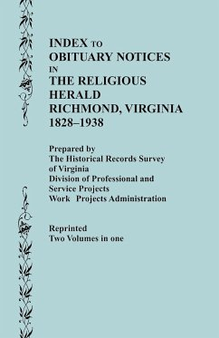 Guide to the Manuscript Collections of the Virginia Baptist Historical Society, Supplement No. 1 - Historical Records Survey of Virginia, R.; Historical Records Survey of Virginia; Historical Records S