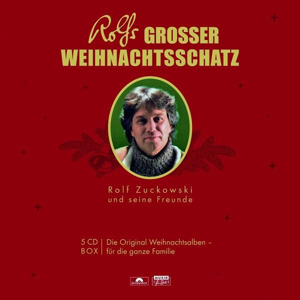 rolfs grosser weihnachtsschatz 5 audio cds von rolf. Black Bedroom Furniture Sets. Home Design Ideas