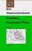 Alpenvereinskarte Cordillera Huayhuash