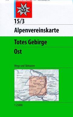 Alpenvereinskarte Totes Gebirge Ost