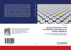 Spectral Functions and Smoothing Techniques on Jordan Algebras