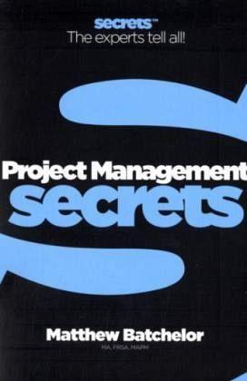 Project Management - Batchelor, Matthew