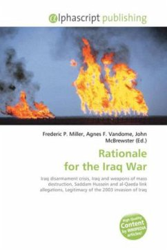 Rationale for the Iraq War