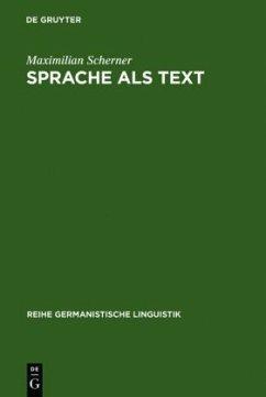 Sprache als Text