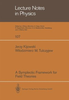 A Symplectic Framework for Field Theories