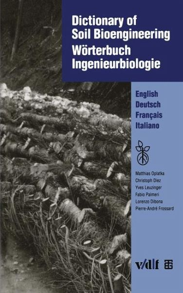 Dictionary of soil bioengineering w rterbuch for Soil dictionary