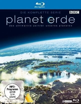 Planet Erde - Die komplette Serie (5 Discs, Uncut) - Bbc