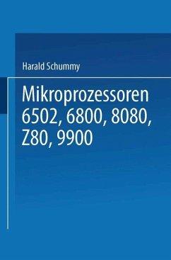 Mikroprozessoren - Schumny, Harald