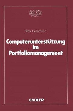 Computerunterstützung im Portfoliomanagement