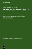 Dialogue Analysis IX: Dialogue in Literature and the Media, Part 1: Literature