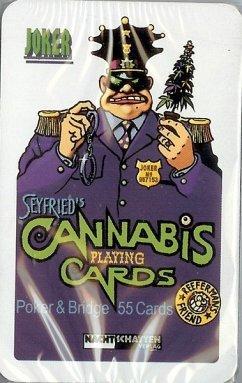 Seyfrieds 55 Cannabis Poker + Bridge Cards Spie...