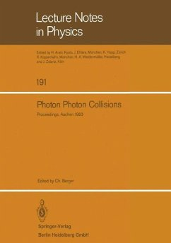 Photon Photon Collisions