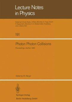 Photon Photon Collisions