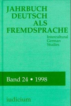 1998 / Jahrbuch Deutsch als Fremdsprache 24
