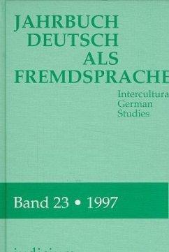 1997 / Jahrbuch Deutsch als Fremdsprache 23