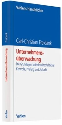 Unternehmensüberwachung - Freidank, Carl-Christian