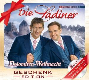 dolomiten weihnacht geschenk von die ladiner cd. Black Bedroom Furniture Sets. Home Design Ideas