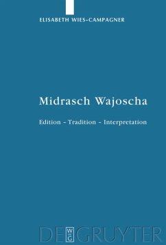 Midrasch Wajoscha - Wies-Campagner, Elisabeth