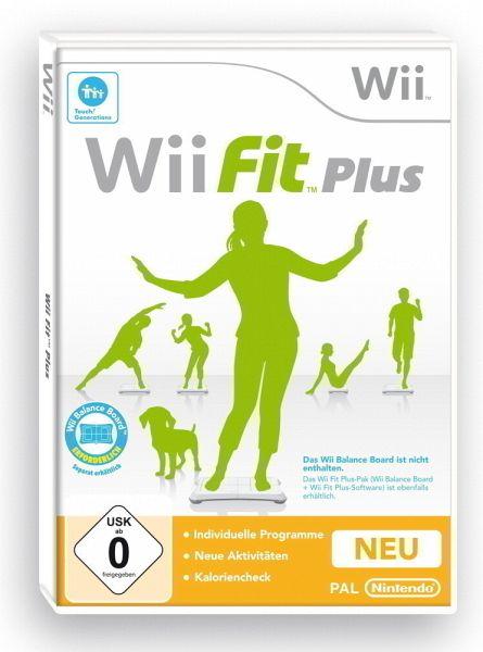 """27235471z Work Out ohne Nass zu werden – """"Wii Fit Plus"""" für Nintendo Wii"""