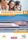 Perspectivas - A1 Al vuelo. Kurs- und Arbeitsbuch Spanisch. Inklusive 2 CDs zum Übungsteil