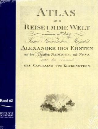 Atlas zur Reise um die Welt von Ivan Krusenstern in den Jahren 1803-1806 - Anonymus, Anonym