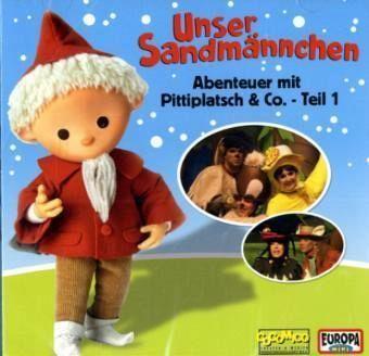 Unser Sandmännchen - Abenteuer mit Pittiplatsch & Co., 1 Audio-CD