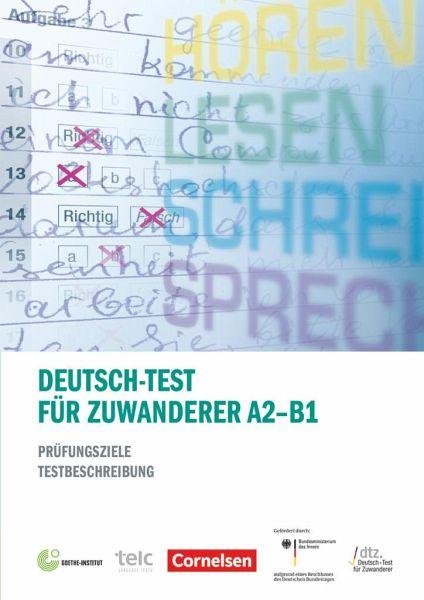 Deutsch Test Für Zuwanderer A2 B1 Von Beate Zeidler Sibylle