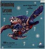 Schildkröte (Konturenpuzzle)