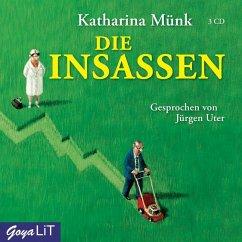 Die Insassen, 3 Audio-CDs - Münk, Katharina