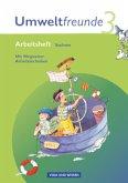 Umweltfreunde 3. Schuljahr. Neubearbeitung 2009. Arbeitsheft. Sachsen