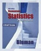 Elementary Statistics: A Brief Version: A Step by Step Approach [With CDROM]