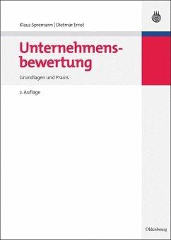 Unternehmensbewertung - Spremann, Klaus; Ernst, Dietmar