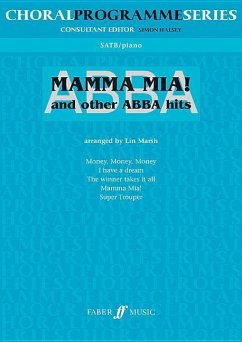 Mamma mia & other ABBA, choir and piano