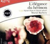 L' élégance du hérisson, 1 MP3-CD\Die Eleganz des Igels, französische Ausgabe, 1 MP3-CD