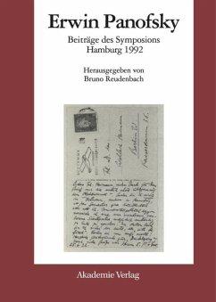 Erwin Panofsky - Reudenbach, Bruno (Hrsg.)