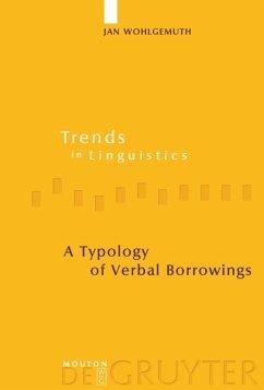 A Typology of Verbal Borrowings - Wohlgemuth, Jan
