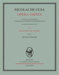 Nicolai de Cusa Opera omnia / Nicolai de Cusa Opera omnia